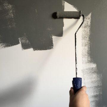 Muur schilderen met muurverf