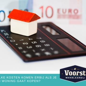 Bijkomende kosten bij het kopen van een woning