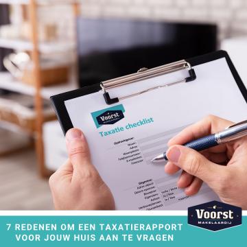 7 redenen om een taxatierapport voor jouw huis aan te vragen