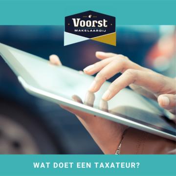Wat doet een taxateur?